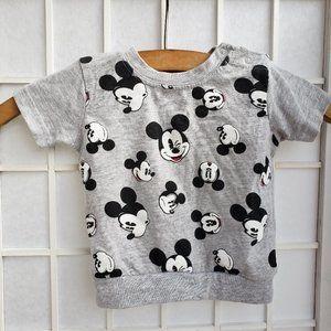 Disney Baby Mickey Mouse Short Sleeve T-shirt (T5)